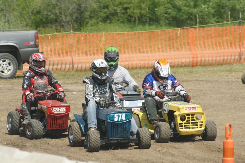 Lawnmower Races